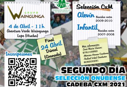 Segundo día pruebas CADEBA CxM Huelva